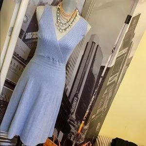 I.N.C International concepts sky blue rayon dress